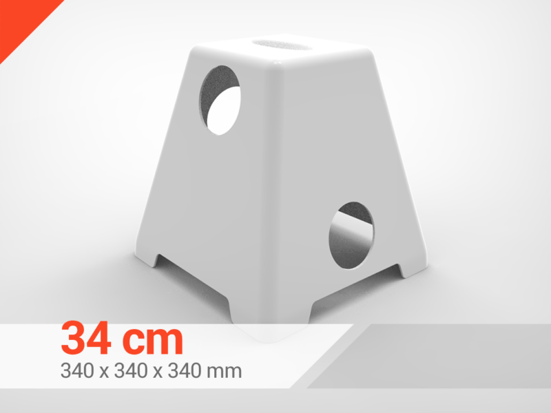 Pirámide Cavalleti Blanco